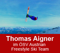 Thomas Aigner im ÖSV Austrian Freestyle Ski Team